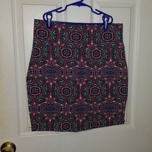 Colorful Charlotte Russe skirt